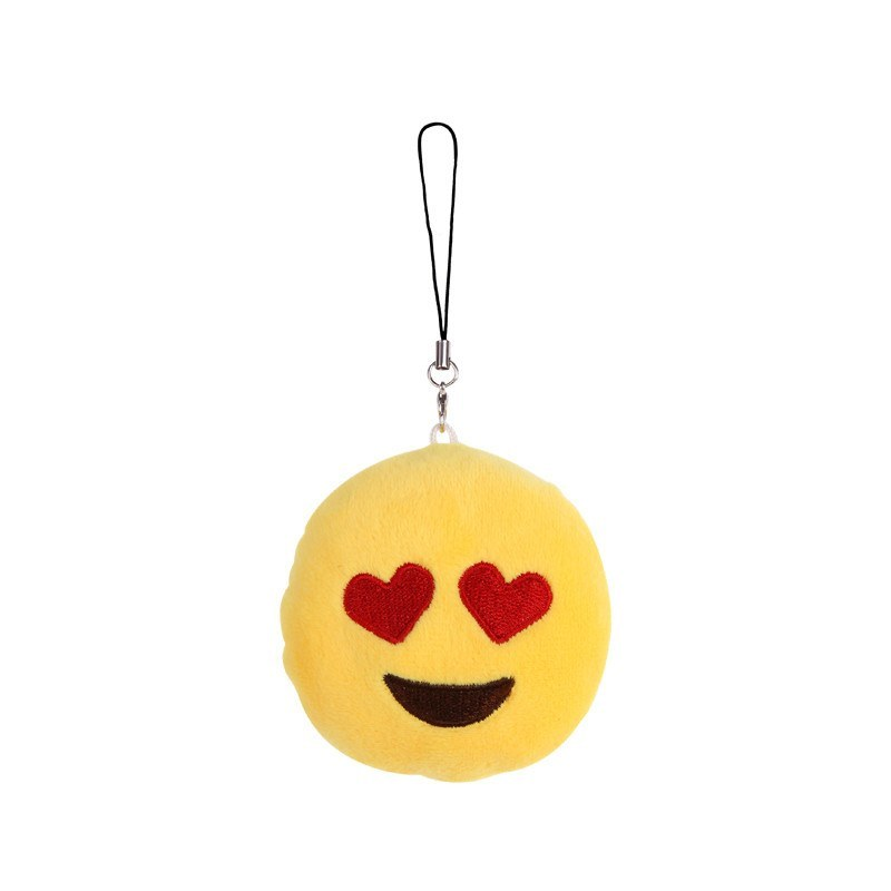 Heart Eyes Keychain