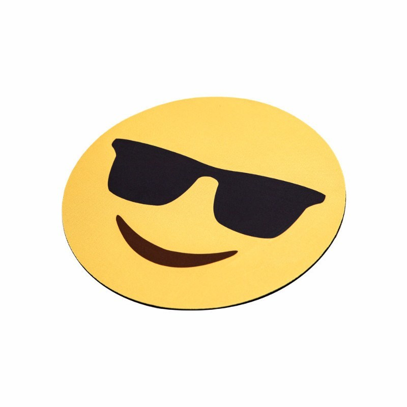 Sunglasses Emoji Mouse Pads - Emoji Shop