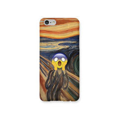 The Scream Emoji Phone Case For Sale - Emoji Store