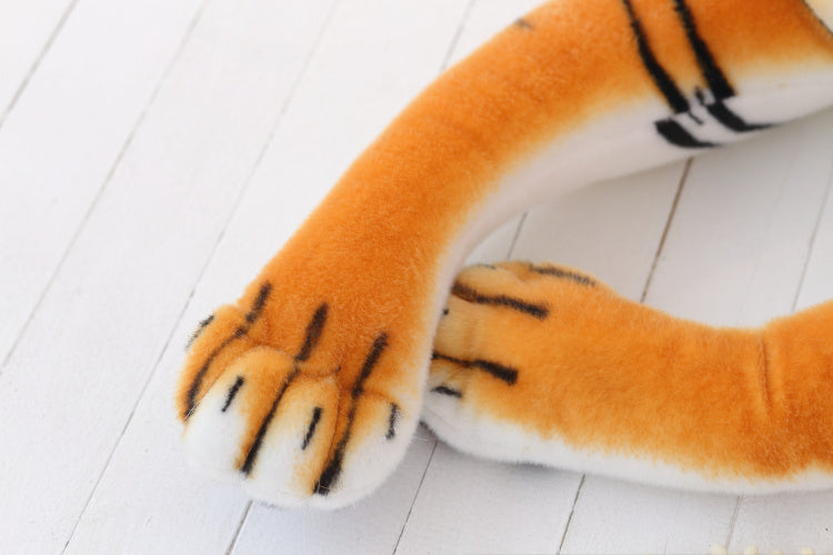 Tiger Plush Pillow Dolls : Cute Tiger Stuffed Animal Toy (70cm)