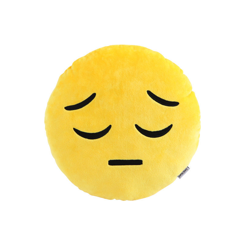 Sad Emoji Pillow by Emoji Island