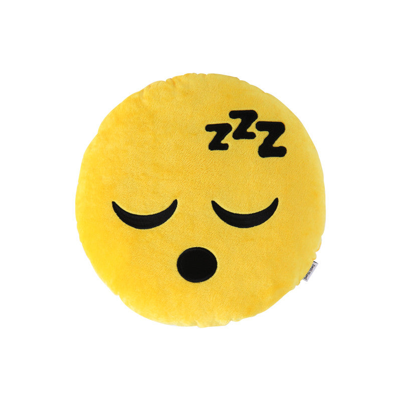 Sleepy Emoji Pillow by Emoji Island