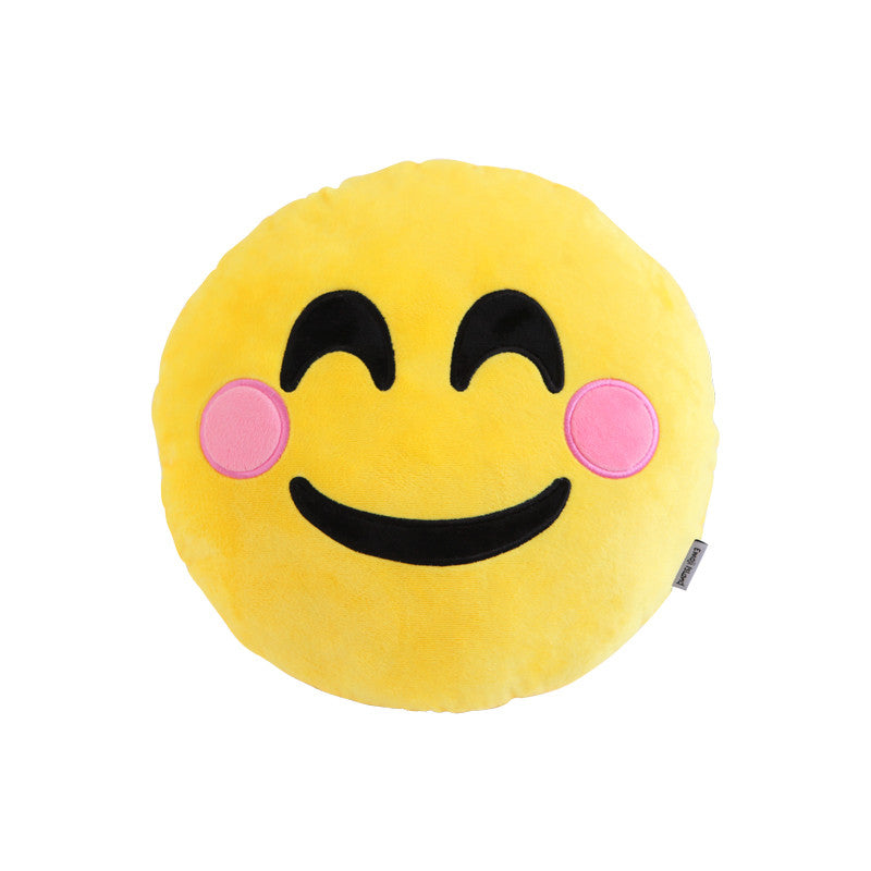 Smile Emoji Pillow by Emoji Island