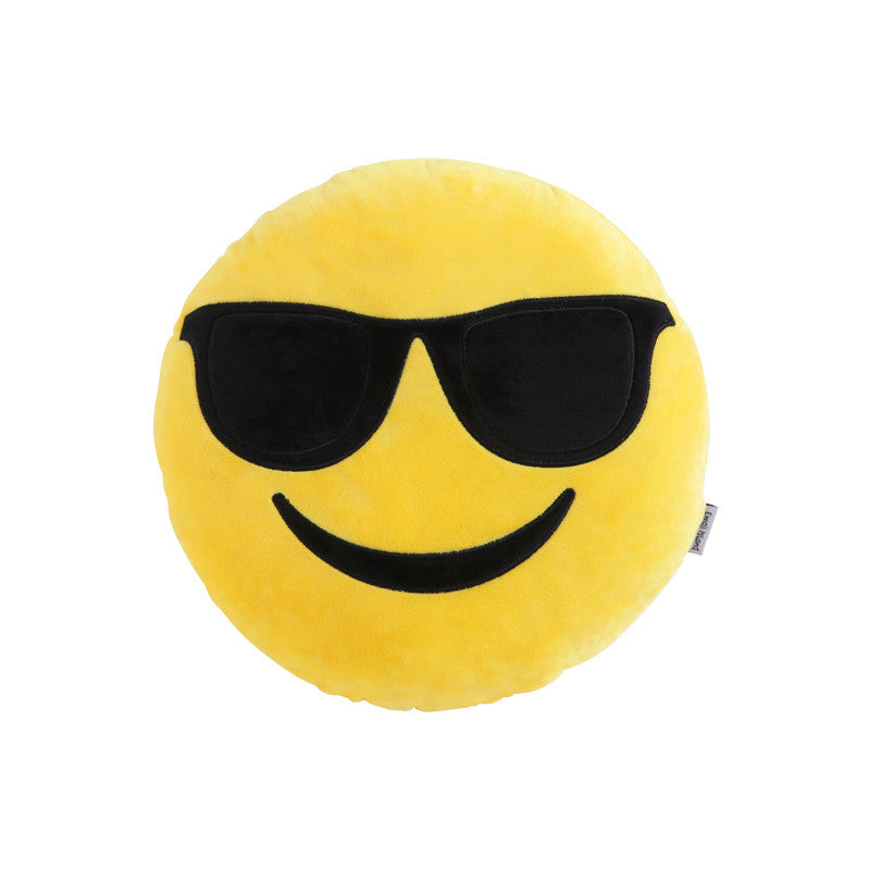Sunglasses Emoji Pillow by Emoji Island