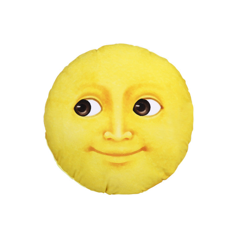 Yellow Moon Pillow