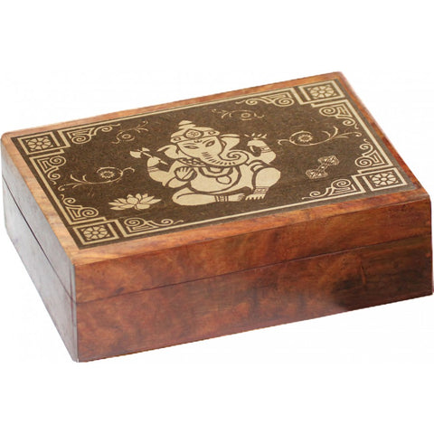 Ganesh Wooden Box