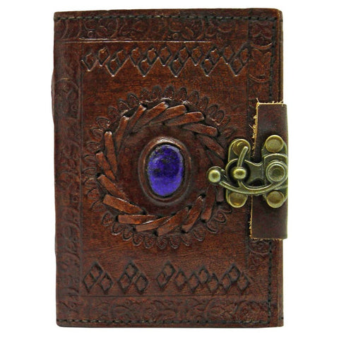 Leather Journal With Stone Eye