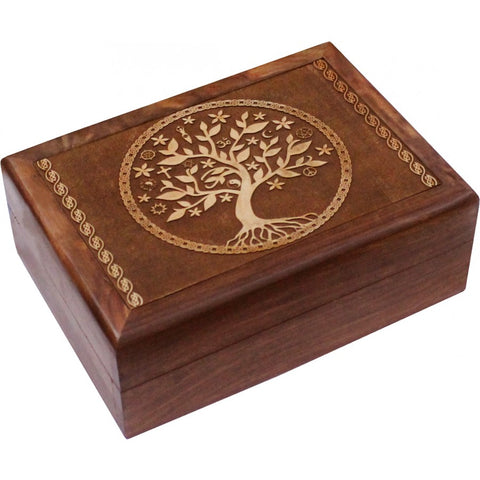 Tree Of Life Wooden Box