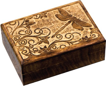 Dragon Fly Wooden Box