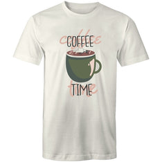 Men's Coffee Time T-shirt - The Hippie House