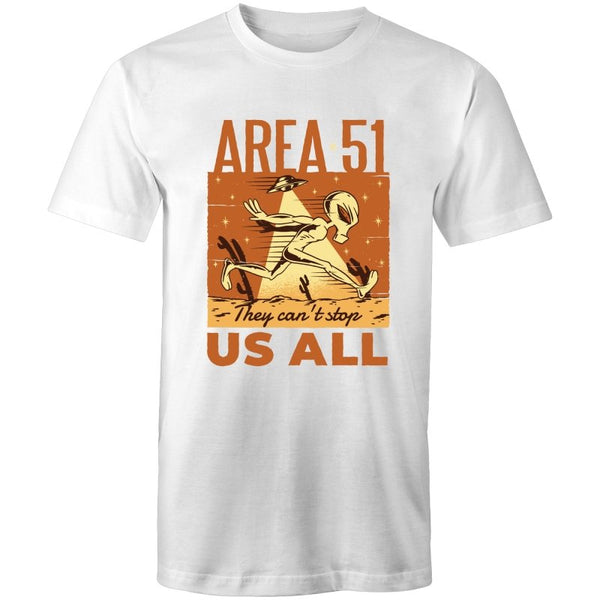 Men's Funny Area 51 T-shirt - The Hippie House