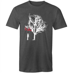 Men's Tree Painting T-shirt - The Hippie House