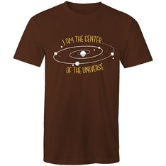 Men's I Am The Center Of The Universe T-shirt - The Hippie House