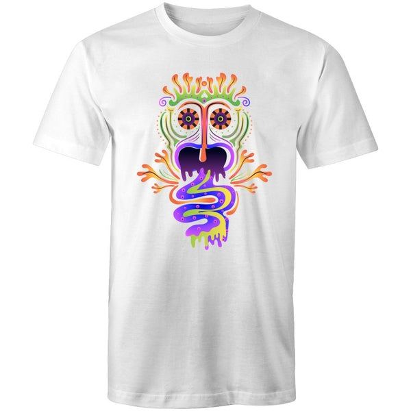 Men's Tribal Psychedelic Creature T-shirt - The Hippie House
