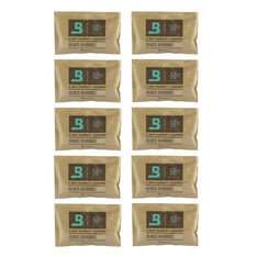 10 Pack Of 67 Gram Boveda Humidipaks - 58% - The Hippie House