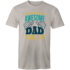 Men's This Is What An Awesome Dad Looks Like Tee - The Hippie House
