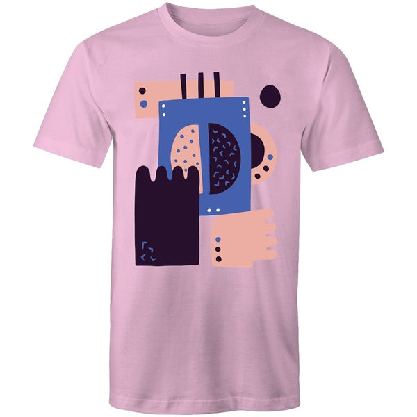 Men's Abstract Block T-shirt - The Hippie House