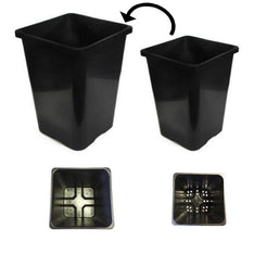 18L + 24L Square Pot Hydroponic Kit - The Hippie House
