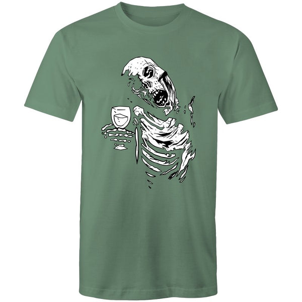 Men's Funky Drinking Skeleton T-shirt - The Hippie House
