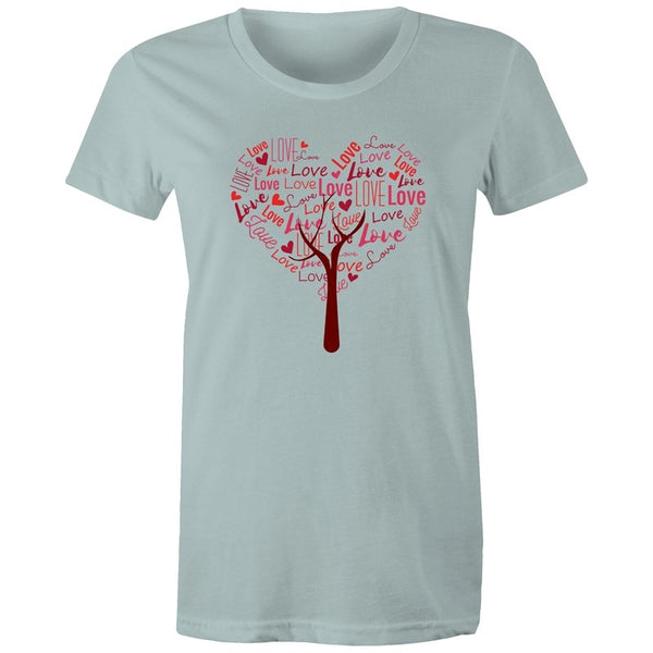 Women's Love Tree T-shirt - The Hippie House