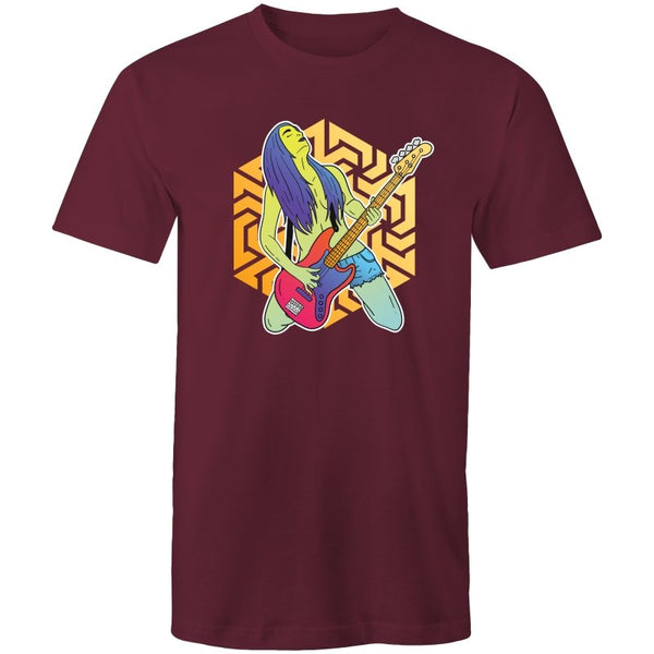 Men's Psychedelic Bass Guitar T-shirt - The Hippie House