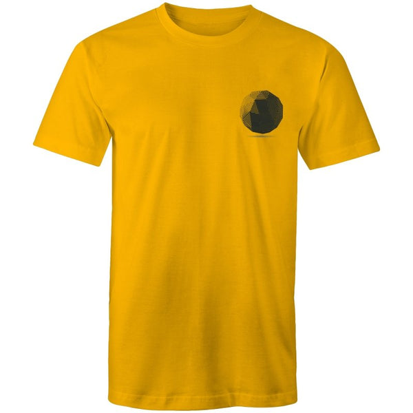 Men's Lineal Globe Pocket T-shirt - The Hippie House