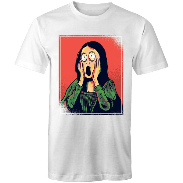 Men's Funny Screaming Art T-shirt - The Hippie House