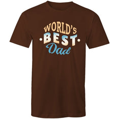 Men's World's Best Dad T-shirt - The Hippie House