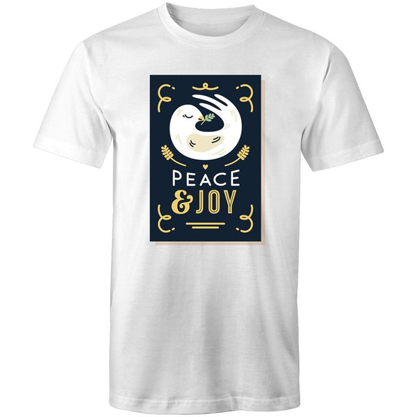 Men's Peace And Joy T-shirt - The Hippie House