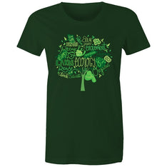 Women's Earth Day Tree T-shirt - The Hippie House