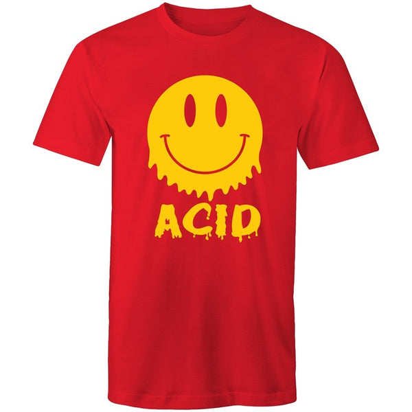 Men's Melting Acid Face T-shirt - The Hippie House