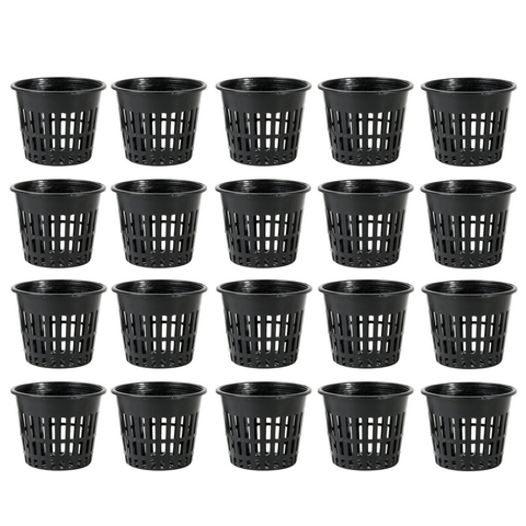 3 Inch Mesh Net Pot - Pack Of 20 - The Hippie House