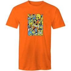 Men's Monster Collage T-shirt - The Hippie House