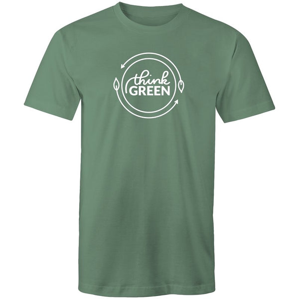 Men's Think Green Logo T-shirt - The Hippie House