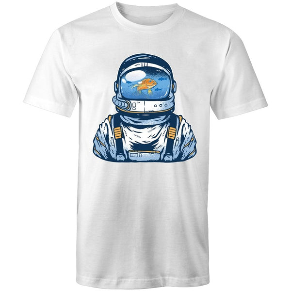 Men's Space Fish Tank T-shirt - The Hippie House