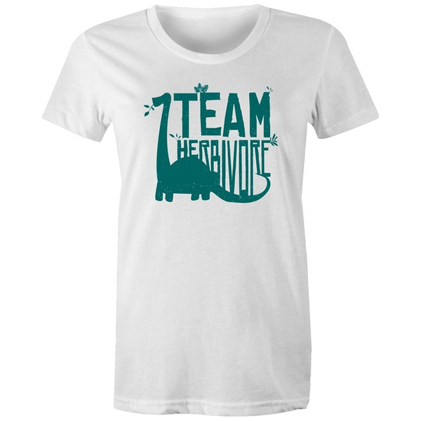 Women's Team Herbivore T-shirt - The Hippie House