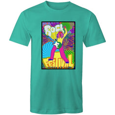 Men's Psychedelic Rock Festival T-shirt - The Hippie House
