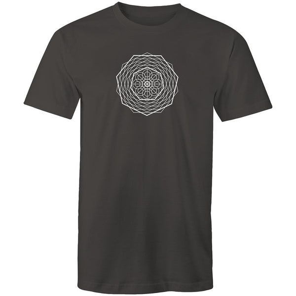 Men's Inner Geometry T-shirt - The Hippie House