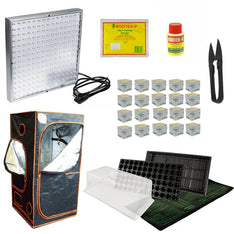 Complete Propagation Kit - LED 48 - For Larger Plants - The Hippie House