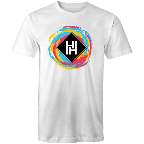 Men's HH Round Colour Logo Tee - The Hippie House