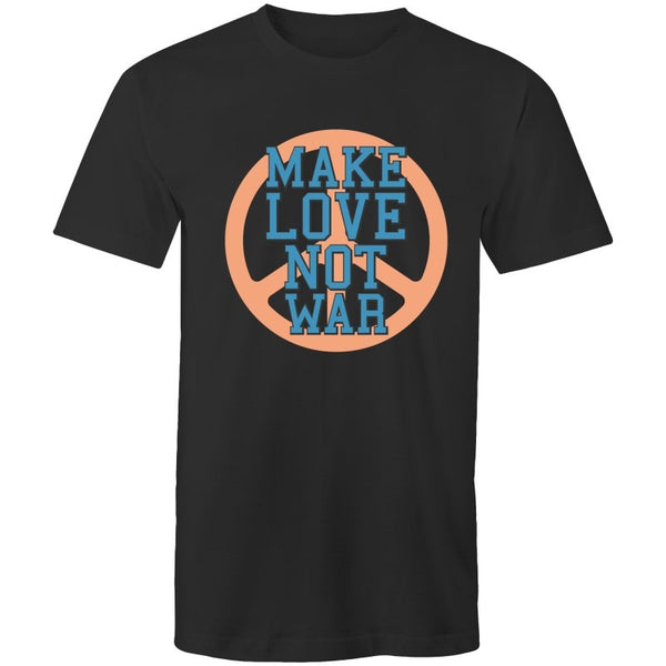 Men's Make Love Not War Graphic T-shirt - The Hippie House