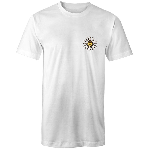 Men's Cool Sun Long Styled Pocket T-shirt - The Hippie House