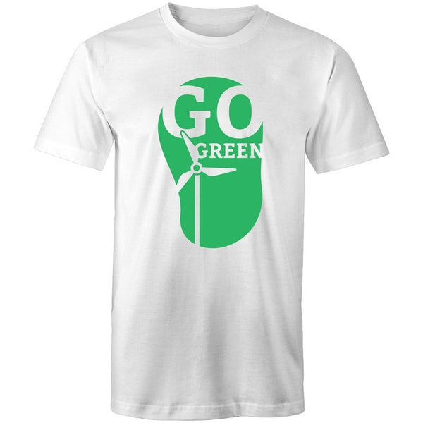 Men's Go Green Environmental T-shirt - The Hippie House