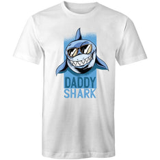 Men's Daddy Shark T-shirt - The Hippie House