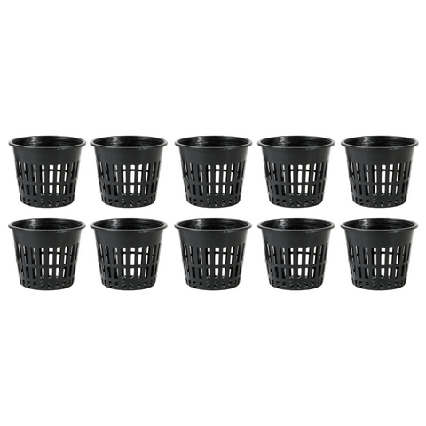 5 Inch Mesh Net Pot - Pack Of 10 - The Hippie House
