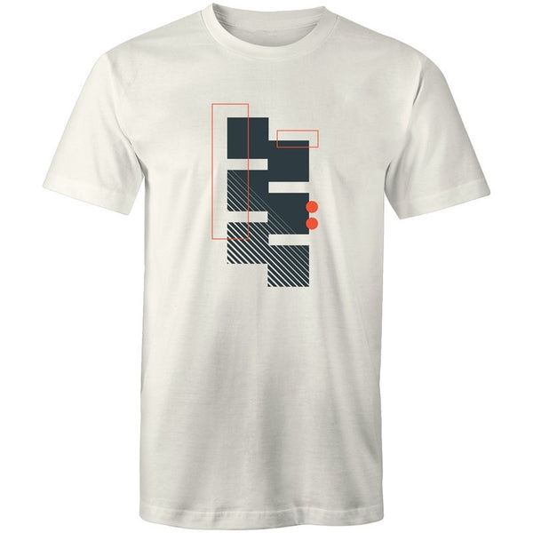Men's Abstract Mini T-shirt - The Hippie House