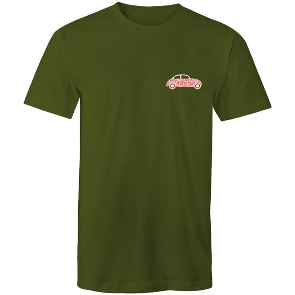 Men's Hippie Car Pocket Logo Tee - The Hippie House