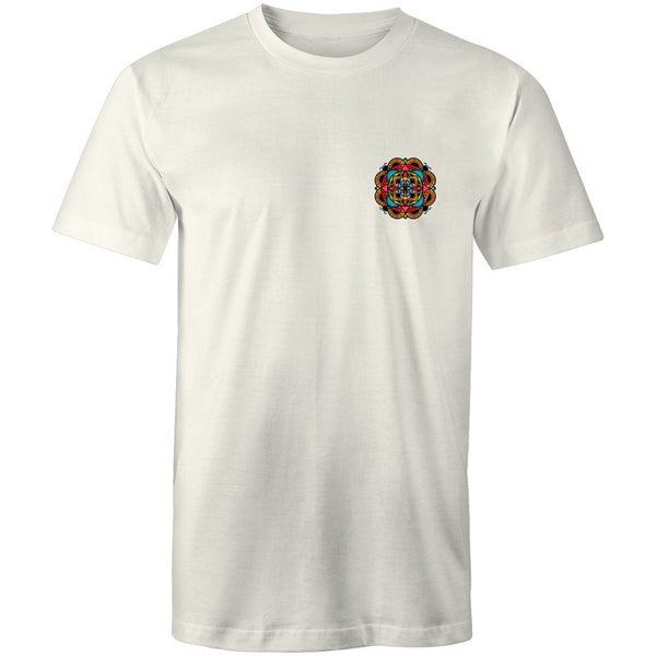 Men's Trippy Mandala Pocket T-shirt - The Hippie House