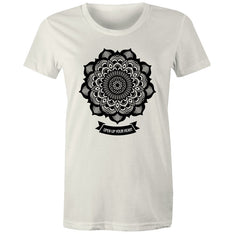 Women's Mandala Open Up Your Heart T-shirt - The Hippie House