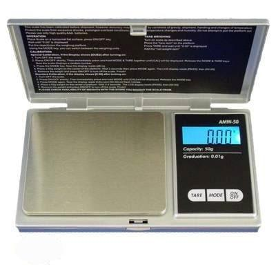 600g x 0.1g AWS Back Lit Standard Digital Scale - The Hippie House